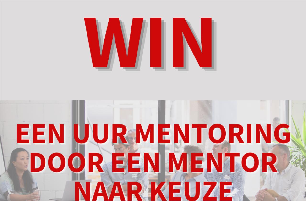 Win een uur mentoring door een mentor die jij hebt gekozen