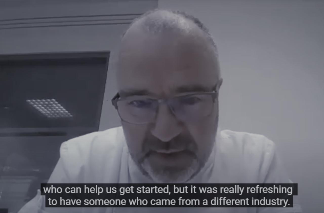 Testimonial mentee Laurent