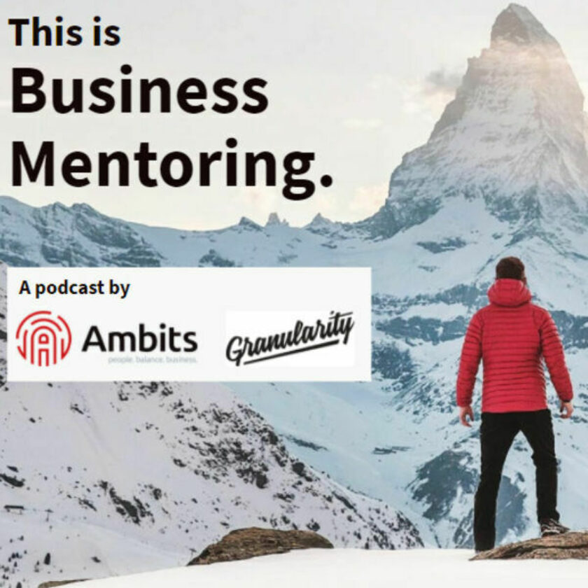 Podcast This is Business Mentoring with Ronald Hermans.