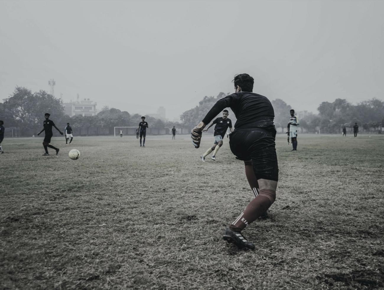 Een voetbalcoach kan een natuurlijke leider zijn